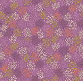 Abstract creative seamless pattern. Background with hand drawn linear details Stock Photos
