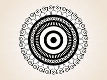 Abstract creative tatto Royalty Free Stock Images