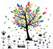 Abstract Creative Tree Royalty Free Stock Photo