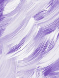 Abstract creative violet hand painted background Stock Photography