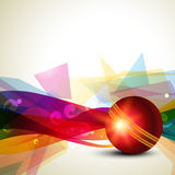Abstract cricket background Stock Photography