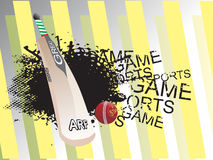 Abstract cricket grunge background Royalty Free Stock Photo