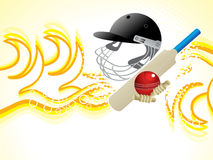 Abstract cricket heat background Stock Image
