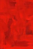 Abstract crimson oil painting Stock Photography