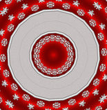 Abstract cristmas background. Red with silver abstract background Stock Image
