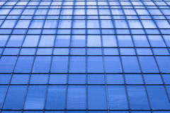 Abstract crop of modern office skyscraper Royalty Free Stock Photos