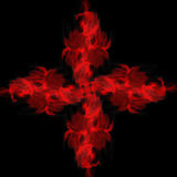 Abstract cross Royalty Free Stock Images