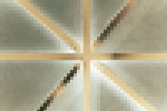Abstract cross line Royalty Free Stock Image