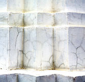 Abstract cross white marble  in the temple bangkok Stock Photo