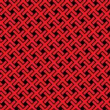 Abstract crosses pattern - vector seamless texture Stock Photography