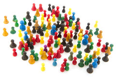 Abstract crowd Royalty Free Stock Photography