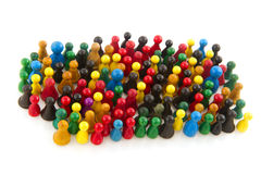 Abstract crowd Royalty Free Stock Photos