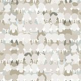Abstract crowd of peoples, seamless pattern for Stock Photos