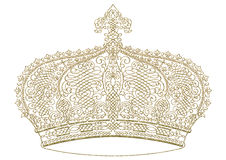 Abstract - Crown. Design element for design creation gold - Crown Stock Images