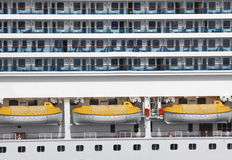 Abstract Cruise Ship Royalty Free Stock Photos