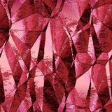 Abstract crumpled background with metal red foil Royalty Free Stock Photography
