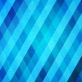 Abstract crumpled blue background. Vector Illustration Stock Photo