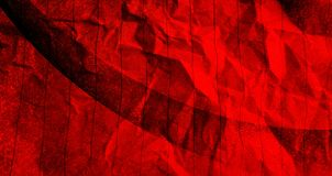 Abstract  Crumpled paper red with black color mixture effects with texture background. vector illustration