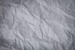 Crumpled paper texture. Abstract crumpled paper texture background stock image
