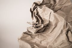 Crumpled paper texture. Abstract crumpled paper texture background stock photos