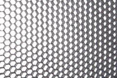 Abstract crumpled silver aluminum Stock Photos