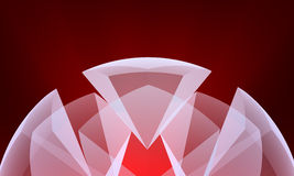 Abstract crystal Royalty Free Stock Images