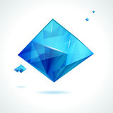 Abstract crystal design. Stock Photography