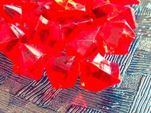 Abstract crystal design stock images