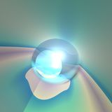 Abstract Crystal Eye Royalty Free Stock Photos