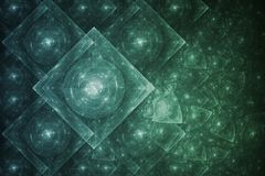 abstract crystal formation Στοκ Φωτογραφία