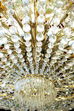 Abstract Crystal Lamp Stock Image