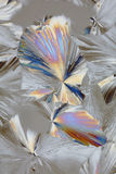 Abstract crystal pattern Stock Photography