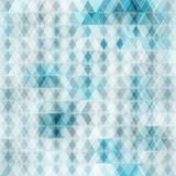 Abstract crystal seamless background stock illustration