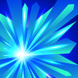 Abstract crystal shiny background Royalty Free Stock Images