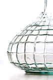 Abstract crystal vase Stock Image