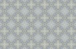 Abstract crystals patterns background Royalty Free Stock Image