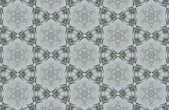 Abstract crystals patterns background Royalty Free Stock Photography