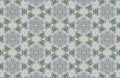 Abstract crystals patterns background Royalty Free Stock Photo