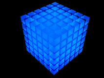 Abstract cube Stock Image