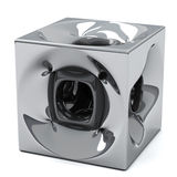 Abstract cube 3d Royalty Free Stock Photography