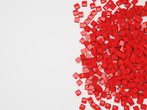 Abstract Cube Background. With place for your text. 3d Image Royalty Free Stock Photos