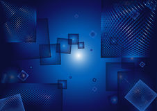 Abstract cube background Stock Images