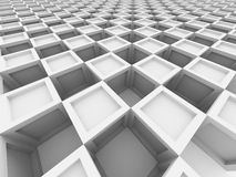Abstract Cube Blocks Architecture Background Royalty Free Stock Photography