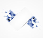 Abstract cube internet computer technology business solution Stock Photo