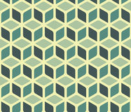 Abstract cube pattern Stock Image