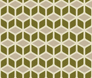 Abstract cube pattern Stock Photo