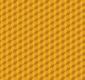 Abstract Cube Pattern Design - Yellow Vector Illustration. Abstract Modern Cube Pattern Design - Yellow Vector Illustration Royalty Free Stock Photography