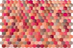 Abstract cube pattern red pink purple surface Royalty Free Stock Photo