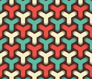 Abstract cube pattern Royalty Free Stock Images