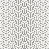 Abstract cube pattern. The abstract cube seamless pattern Stock Photo